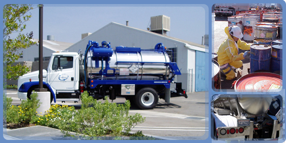 Transport Cleaning Services : Waste transportation powerclean industrial services